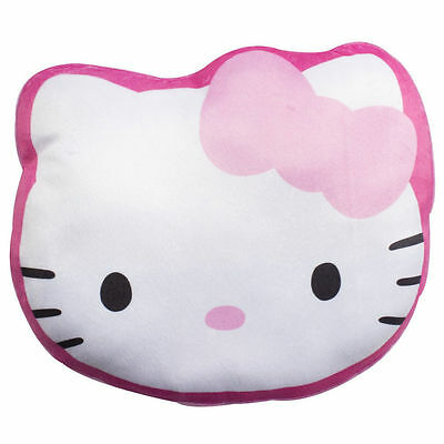 Hello Kitty Childrens Cute Shaped Cushion Pillow Character World FREE DELIVERY
