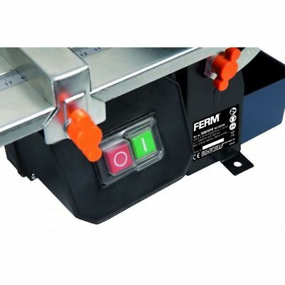 Ferm 180mm 600W Wet Electric Tile Cutter + FREE Diamond Blade