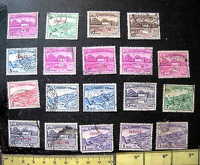 Selection Of Pakistan Stamps