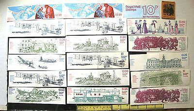 Selection Of 20 Gb Stamp Booklet Covers (No Stamps)