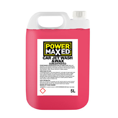 Toyota Verso Power Maxed Car Jet Wash and Wax 5 Litre