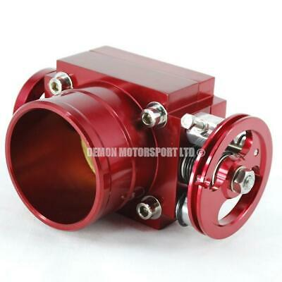 Universal Red 70mm CNC Billet Alloy Custom Throttle Body