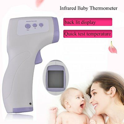 Digital Infrared Baby Thermometer Portable Multifunction Adjustable Setting