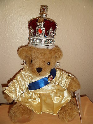 Her Majesty The Queen Teddy Bear - the Great British Teddy Bear Co