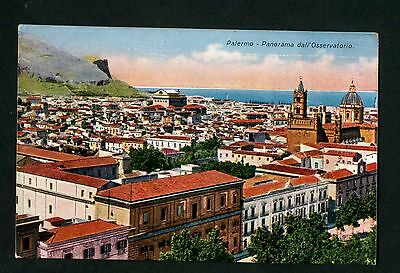 Italy ,sicily.palermo.panorama Dall Osservatorio   .date Unknown