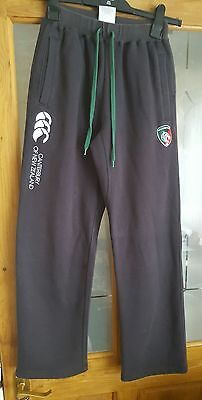 Boys Leicester Tigers Tracksuit Bottoms.