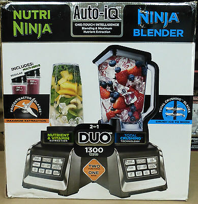 Nutri Ninja Blender Duo with Auto-iQ BL641