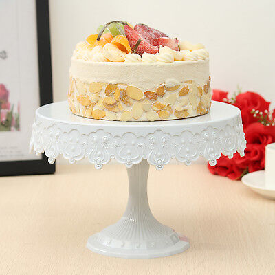 Cake Stand White Round Cupcake Dessert Display Shelf for Wedding Party Birthday