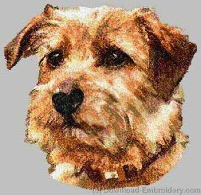 Embroidered Long-Sleeved T-shirt - Norfolk Terrier DLE2492 Sizes S - XXL