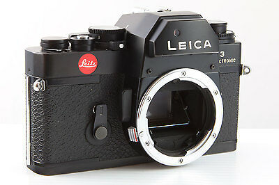 Leica R3 Electronic 35mm Film SLR Black Camera Body