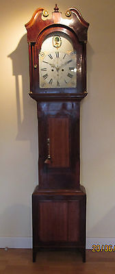"Rare  "" Clan of MacEwens  ""  8 Day Longcase Clock"
