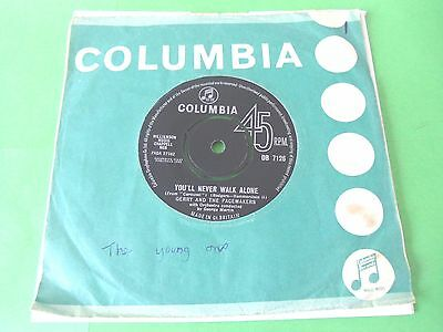 """Gerry And The Pacemakers - You'll Never Walk Alone  7""""  63  Vg-"""