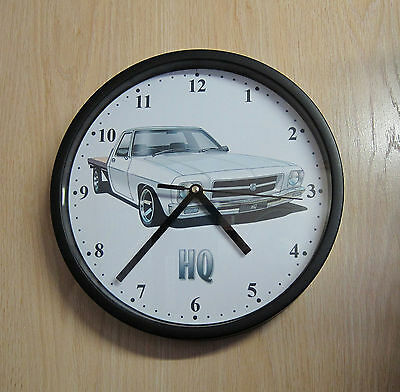 Holden HQ One Tonner (white) Wall Clock