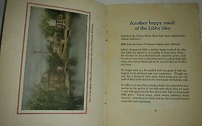 Antique Vintage Libby, McNeill & Libby Chicago Advertising 1919 Milk Book Rare