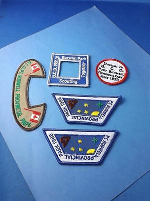 Boy Scouts Canada Patches Lot 5 Port Burwell Provincial Park 1988 1990 1991