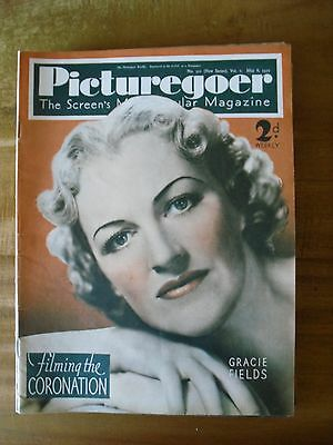 Picturegoer   May 8th  1937  Gracie Fields   Cover