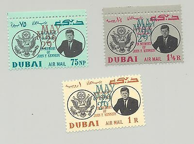 "Dubai #C52-C54 3v Double o/p Error with Exp ""Herzig"" on Reverse"