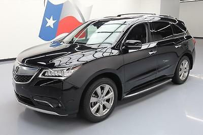 2014 Acura MDX  2014 ACURA MDX SH-AWD ADVANCE SUNROOF NAV DVD VIDEO 59K #041844 Texas Direct