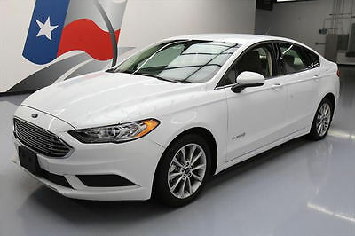 2017 Ford Fusion SE Hybrid Sedan 4-Door 2017 FORD FUSION SE HYBRID REAR CAM ALLOY WHEELS 15K MI #190693 Texas Direct