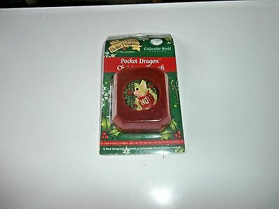 Pocket Dragon Christmas Brooch Brand New Boxed  Noel