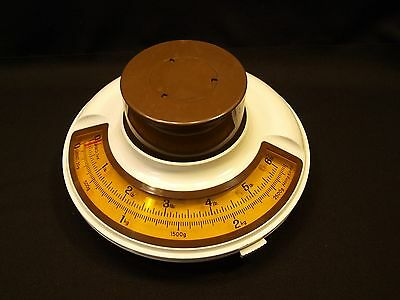 Vintage Mid-Century Spaceage / Futuristic Round Design Scale Tool VGC Hong Kong