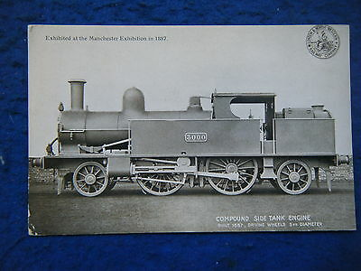 Lnwr Official (302) Compound Side Tank Engine  - Scarce Postcard!