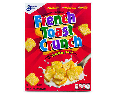 General Mills French Toast Crunch Cereal 328g