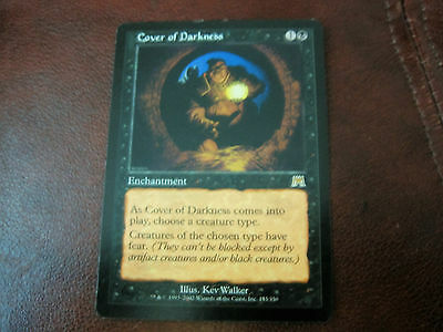 COVER OF DARKNESS- Onslaught- Magic The Gathering MTG - Top condition