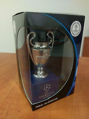 Uefa Champions League 3D Trophy Cup Replica 2016 San Siro Milano Real Madrid NEW