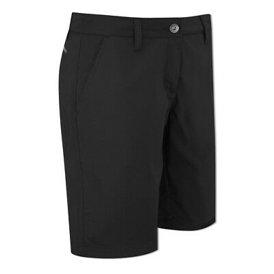 Catmandoo Ladies Straight Fit Shorts with Tech Stretch in Black