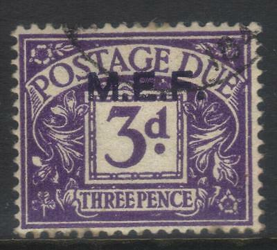 Middle East Forces 1942 Postage Due Sgmd4 Used