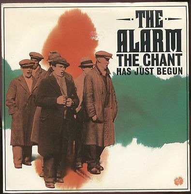 """The ALARM UK 1984 7"""" Single THE CHANT HAS JUST BEGUNDisc=MINT"""