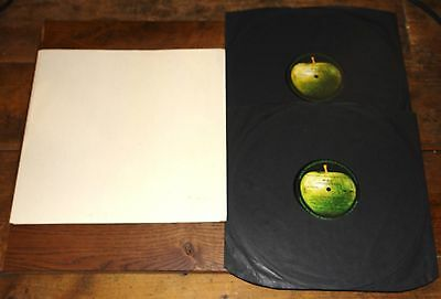 THE BEATLES WHITE ALBUM ~ UK MONO 2x EARLY APPLE LP W/ POSTER INNERS & INSERTS