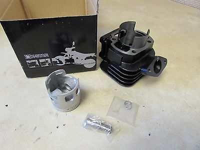 SCOOTER CYLINDER + PISTON KIT MINERELLI AC 47mm (BOTTOM END) - YAMAHA BW50 ZUMA