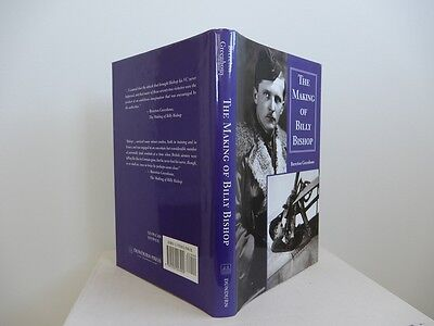 The Making of Billy Bishop by Brereton Greenhous 1st edition fine hardcover