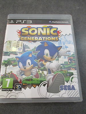 Sonic Generations - Gioco Per Playstation 3 Con Manuale