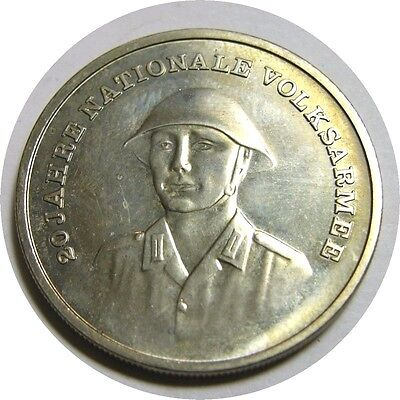 elf East Germany 10 Mark 1976 A Army 20th  Soldier