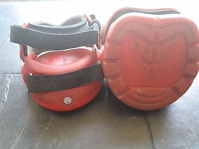 Red Renegade Hoof Boots Size 2W