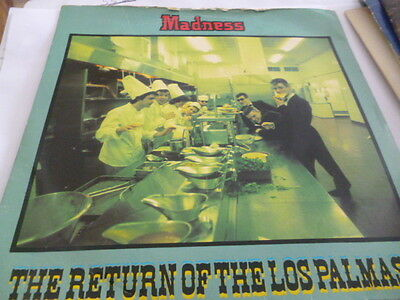 Madness....return Of The Los Palmas 7.....1981....  Vg+ Con