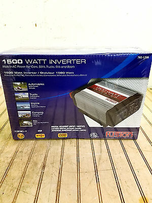 Fusion Power Inverter 1500 Watt Digital Readout