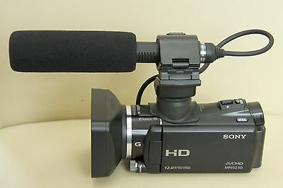 Sony HXR-MC50E 64 GB 1080 HD Camcorder with GPS and Remote - Black