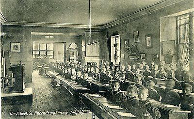 Torquay - Devon - St Vincent's Orphanage - The School - Old Postcard View