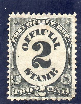 USA - 1870's Officials - Sc O48 - 2c Post Office
