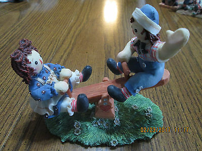 Limited edition Raggedy Ann and Andy Figurine