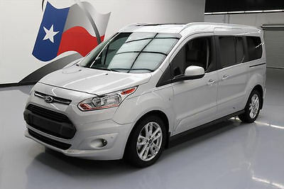 2014 Ford Transit Connect  2014 FORD TRANSIT CONNECT TITANIUM LEATHER PANO NAV 12K #155357 Texas Direct