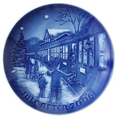BING & GRONDAHL 2006 Christmas Plate B&G - NEW in BOX!  WELCOMING XMAS GUESTS