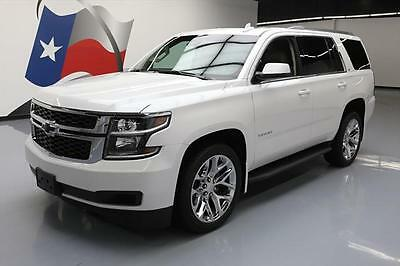 2016 Chevrolet Tahoe LT Sport Utility 4-Door 2016 CHEVROLET TAHOE LT 4X4 SUNROOF NAV DVD 22'S 37K MI #238345 Texas Direct