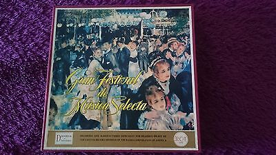 Gran festival de música selecta ,12 × Vinyl, LP, Box Set, Booklet ,1961 ,Spain