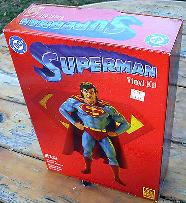 1994 HORIZON SUPERMAN VINYL MODEL KIT 1/6 SCALE 1994 NEW UNASSEMBLED Mint