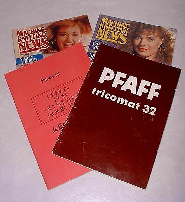 PFAFF - Passap TRICOMAT 32 Instruction Book Plus Designs + Patterns + Magazines